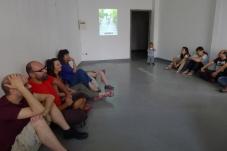 At Mesogeios art space in Herakleion