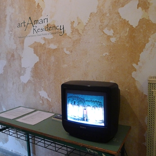 "Slide show of the residencies, the work, the fun, ""backstage"", etc"