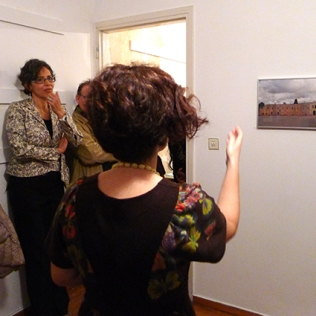 Tour of the exhibition. Ivana Ivkovic's work