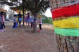 Workshop at the primary school of Fourfouras village